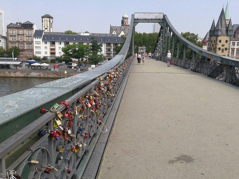 Eisener Steg in Frankfurt