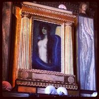 """Gemälde """"Die Sünde"""" von Franz von Stuck, Foto während des Tweetups in der Villa Stuck aufgenommen."""