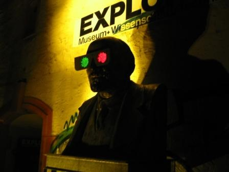 Foto @Anaglyphowitsch nachts, Exploramuseum.