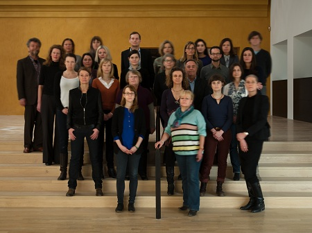 Mitarbeiter des Lenbachhaus, 2013; @ Foto: Michael Wesely, VG Bild-Kunst, Bonn 2013.