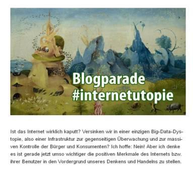 Blogparade #Internetutopie, ZKM Karlsruhe