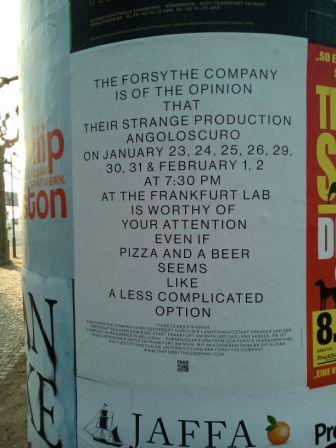 The Forsythe Company, Frankfurt