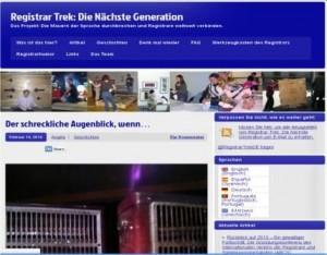Blog Registrar Trek