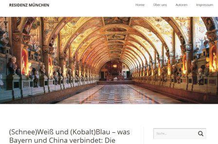 Das Blog des Residenzmuseum ist besonders. Ich baute es mit auf, jetzt 2019 ist es im Schlösserblog der Bayerischen Schlösserverwaltung eingegangen. Ein wunderbarer Museums-Blogsteckbrief.