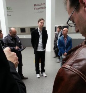Tweetup mit David Shrigley