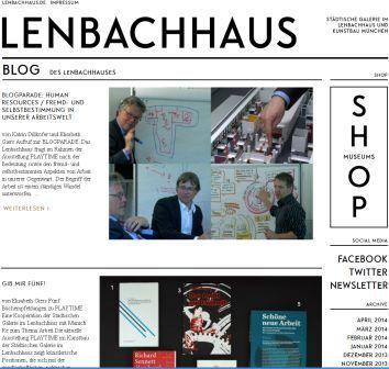 Blog des Lenbachhaus. Was macht es besonders. Ein Museums-Blogsteckbrief
