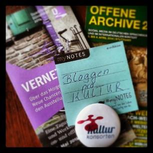 Warum bloggen pro Kultur? Warum müssen Museen, Archive, Bibliotheken und Kulturhäuser generell bloggen? Ein kleines Fazit! stARTcamp München; #archive20; #qd2014; bloggen