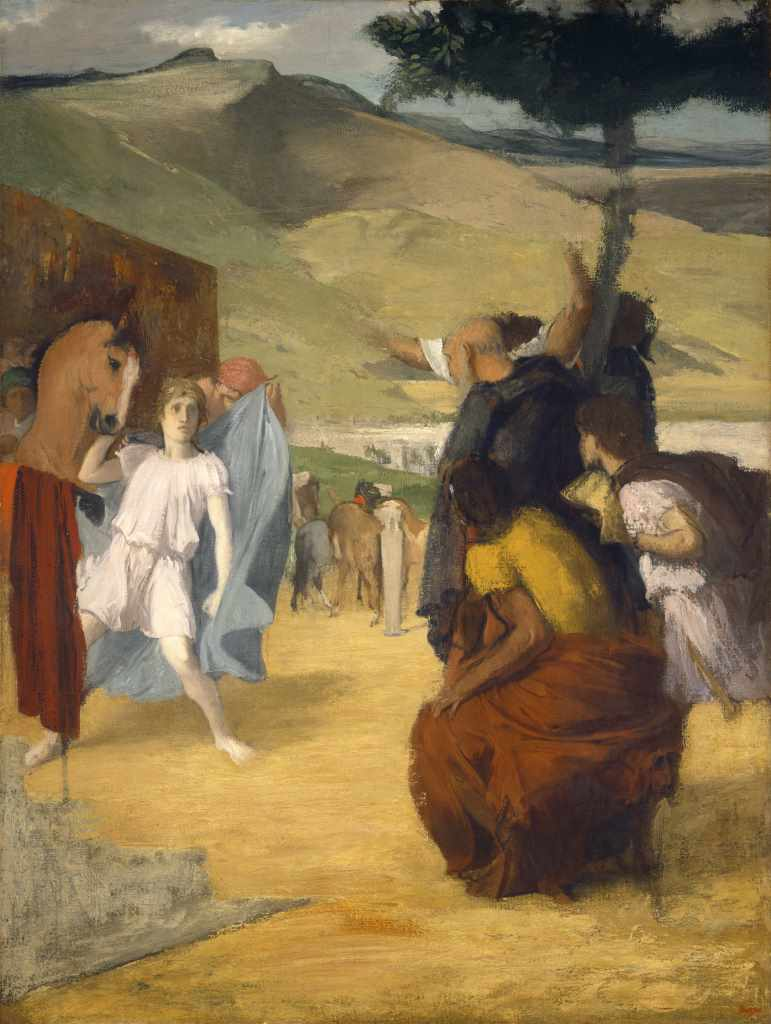 Edgar Degas, Alexander und Bucephalus, 1861/62, Courtesy National Gallery of Art, Washington
