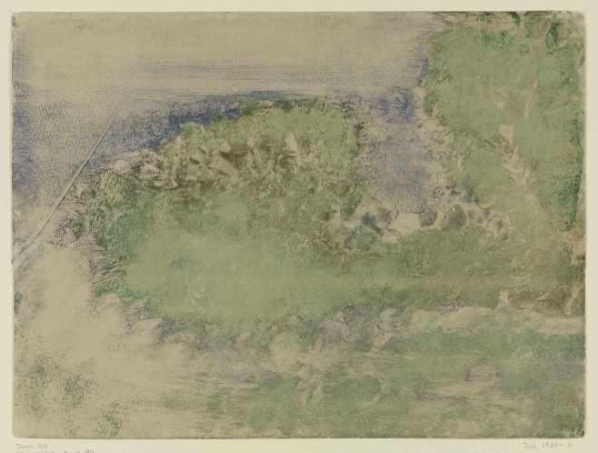 Cap Ferrat, 1892 © Staatliche Kunsthalle Karlsruhe