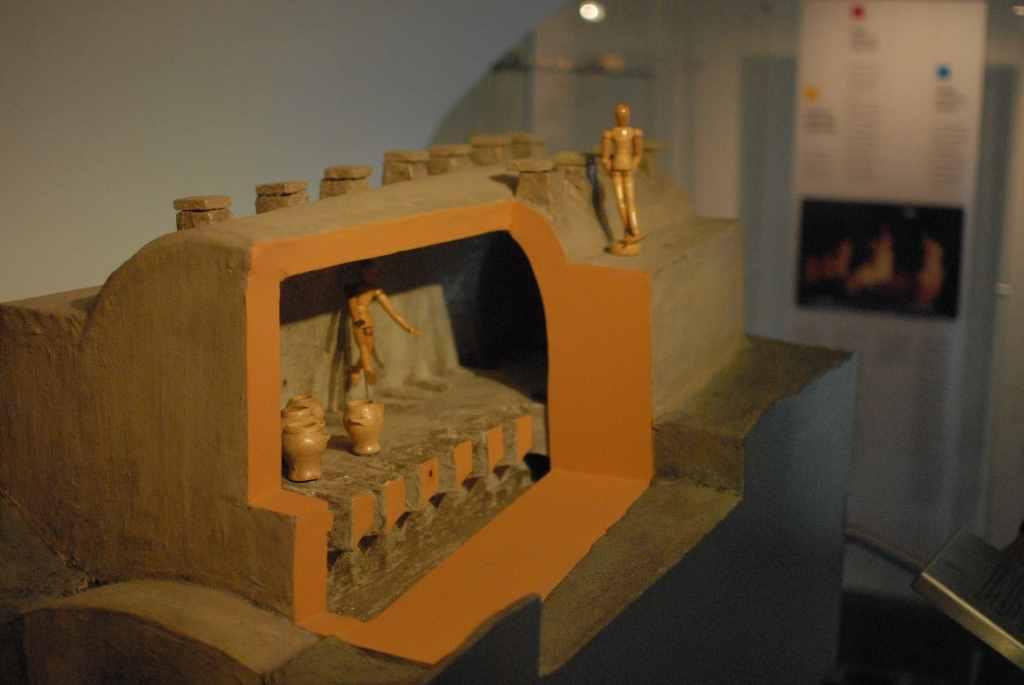 Modell des Brandofens