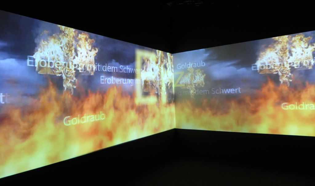 INKA - Könige der Anden - Eine Ausstellung des Linden-Museums Stuttgart in Zusammenarbeit mit der Veranstaltungs- + Kongress GmbH Rosenheim im Ausstellungszentrum Lokschuppen