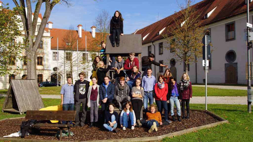 Die Teilnehmerinnen und Teilnehmer des Projektes