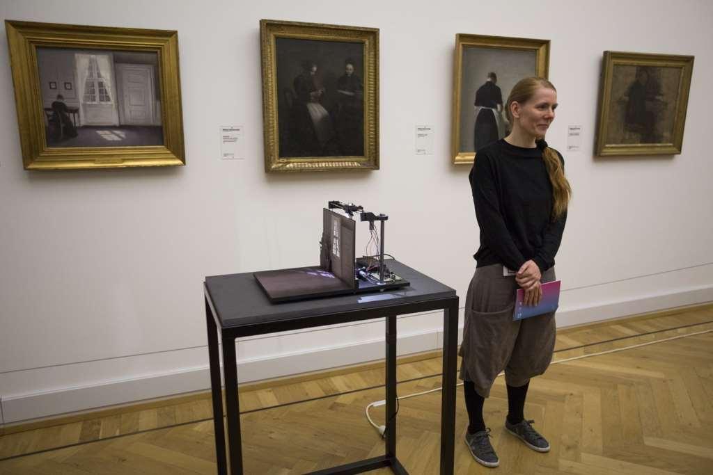Set Art Free; Kopenhagen; Peter Soemers; Kati Hyyppä; Hammershoy