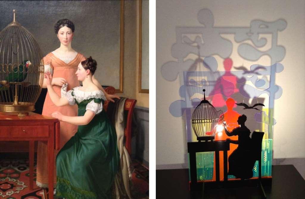 Set Art Free; Bella und Hanna, Eckersberg; Neea Laakso; Statens Mufeum for Kunst