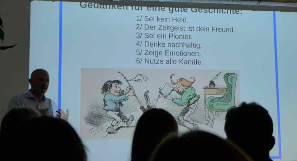Heimo Tscherne; Storytelling; Social Media Club München; #smcmuc