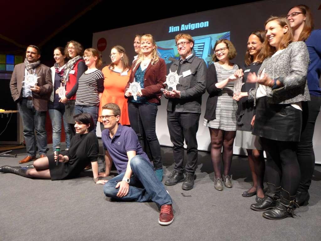 Virenschleuderpreis 2015; Leander Wattig; Karla Paul; Digital Media Women; #vsp15; Frankfurter Buchmesse; Frankfurt