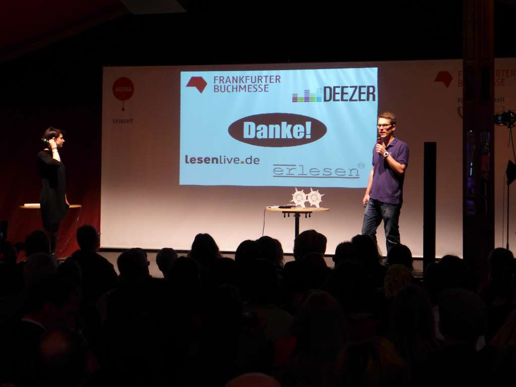 Virenschleuderpreis 2015; #vsp15; Leander Wattig; Karla Paul; Frankfurter Buchmesse; Frankfurt