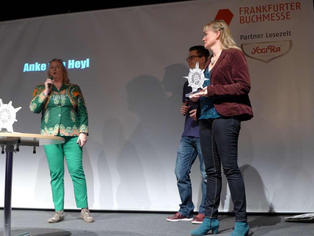 Anke von Heyl; @Kulturtussi; Virenschleuderpreis 2015; #vsp15; Frankfurter Buchmesse; Tweetwalk Lustwandeln; #Lustwandeln