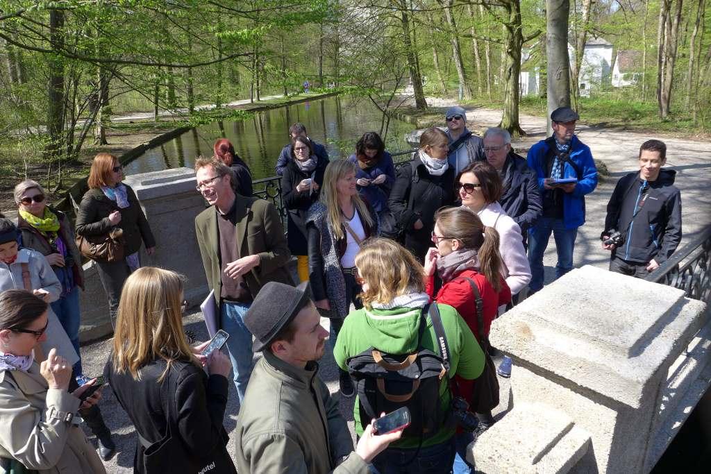 #Lustwandeln; Lustwandeln; Tweetwalk; Schlosspark Nymphenburg