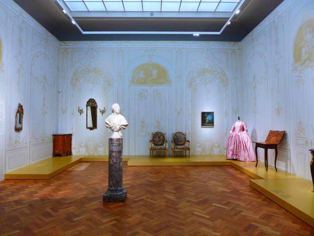 Rokoko; Schloss Wilhelmstal, Kassel; Liebieghaus Skulpturensammlung; Musensaal; Interieur