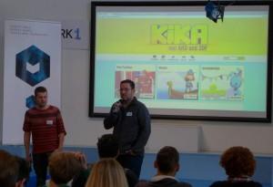 Programm-Macher von KiKA stellen ihre Webformate für Kinder vor.