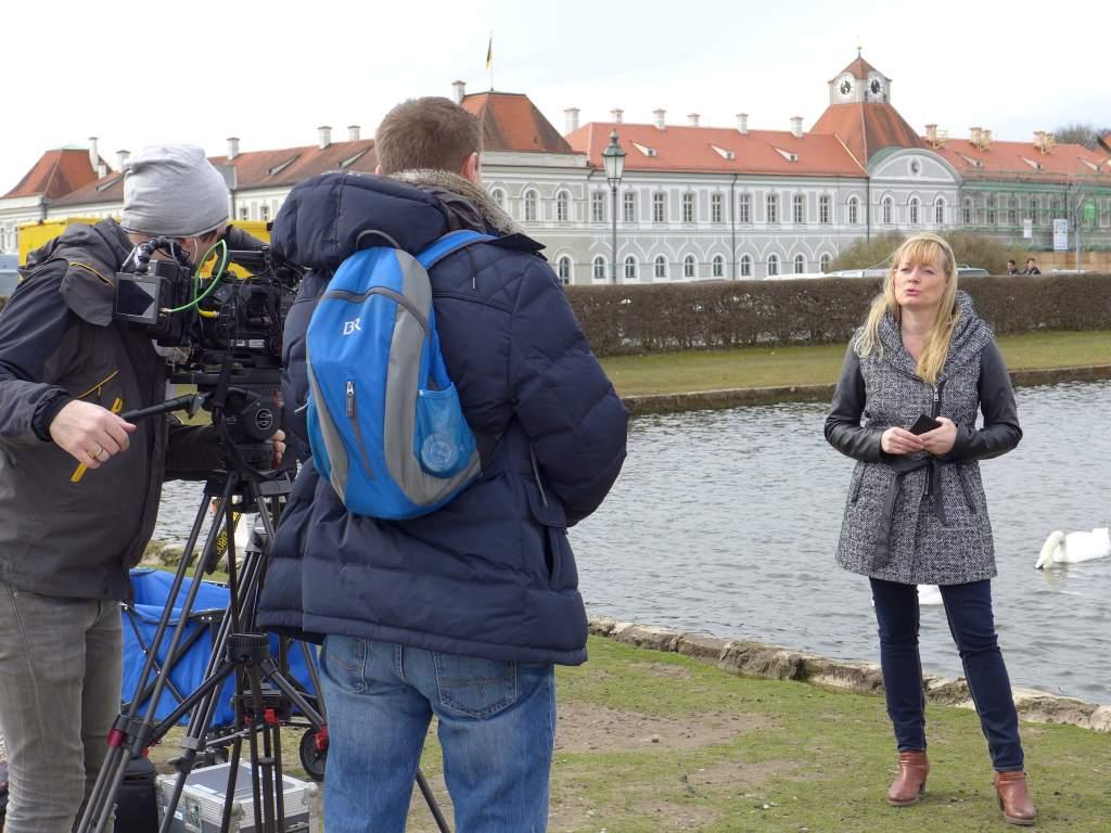 Der Elektrische Reporter bringt das Für und Wider von History Apps, hier mit der App Schlosspark Nymphenburg im Fokus.