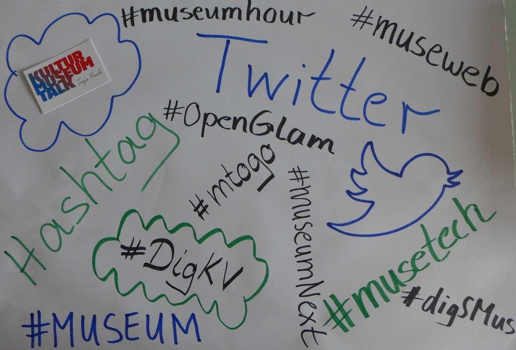 Hashtags und Twitter - wie funktionieren sie in der Kultur, im Museum?