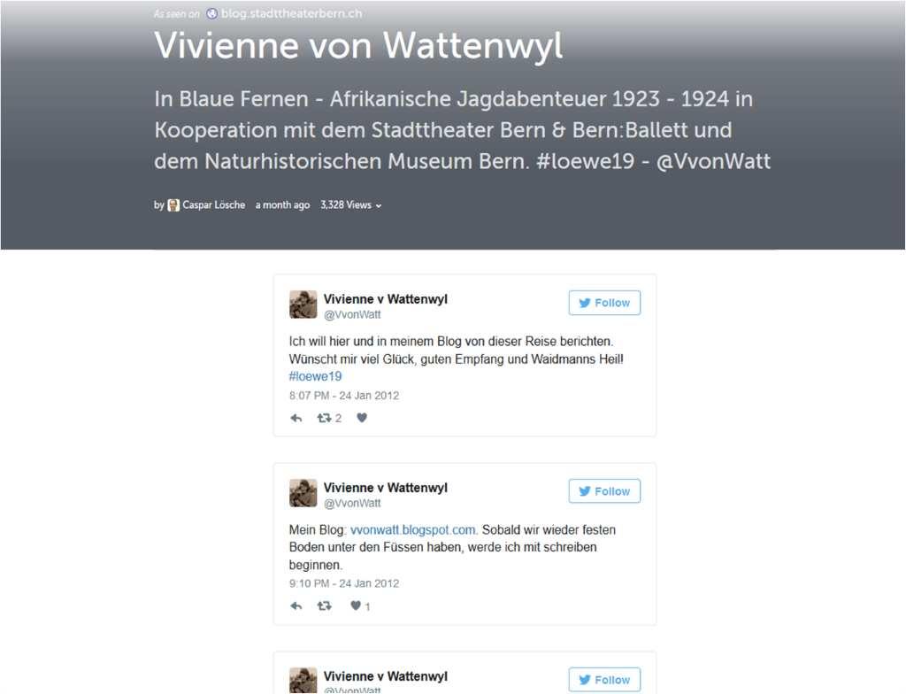 Storify von @VVonWatt, Bern von Caspar Loesche.