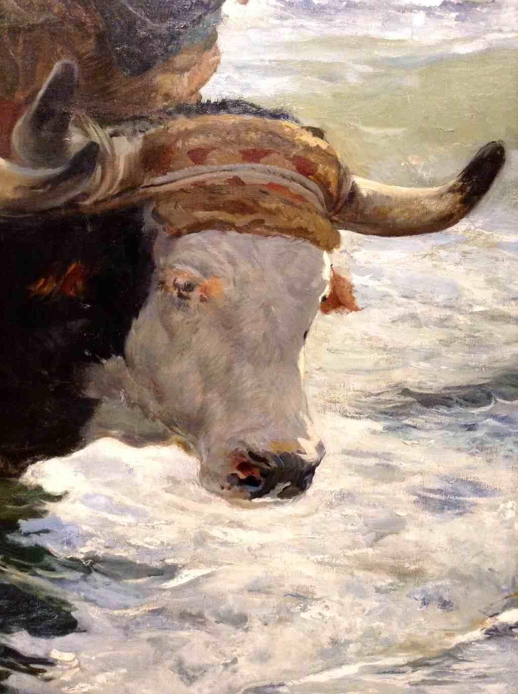 Joaquín Sorolla in der Kunsthalle der Hypo-Kulturstiftung in München. Die Rückkehr vom Fischfang