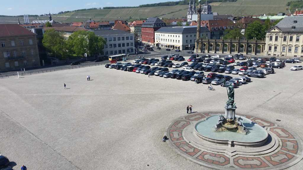 Der Residenzplatz - #KultTrip Würzburg