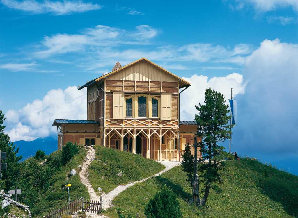 Das Königshaus am Schachen - Wanderung zum Gipfel, klasse #kultTrip zu Bayerns Schlösser