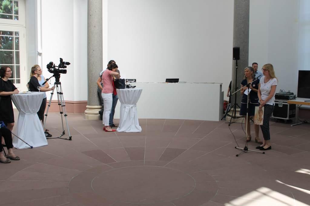 Pressekonferenz zum Kunsthallensommer, #KultTrip, Staatliche Kunsthalle Karlsruhe