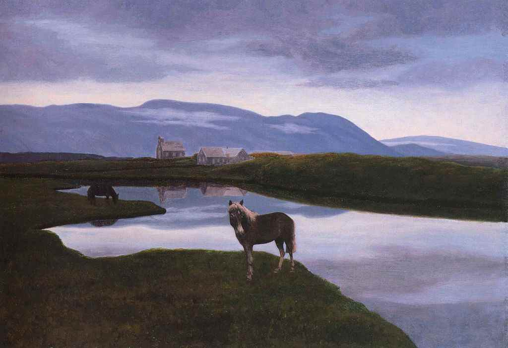 https://commons.wikimedia.org/wiki/File:Thorarinn_thingvellir.jpg (Public Domain) Þingvellir , 1900 (Sammlung National Gallery of Iceland) #KultTrip