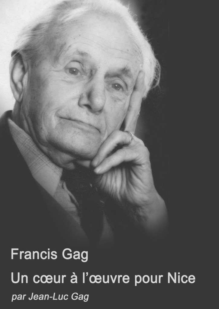Porträt von Francis Gag, der die Kultur und Theaterlandschaft in Nizza prägte wie kein anderer.