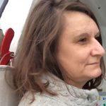 Profilbild von Maria-Bettina Eich, gemacht von ihrer Tochter. Reisen mit Kindern.