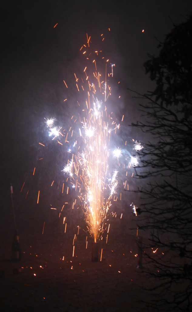 Kleines Feuerwerk - Sinnbild für das Social Web und Blogs als Katalysator für Kultur. Montagsinterview.