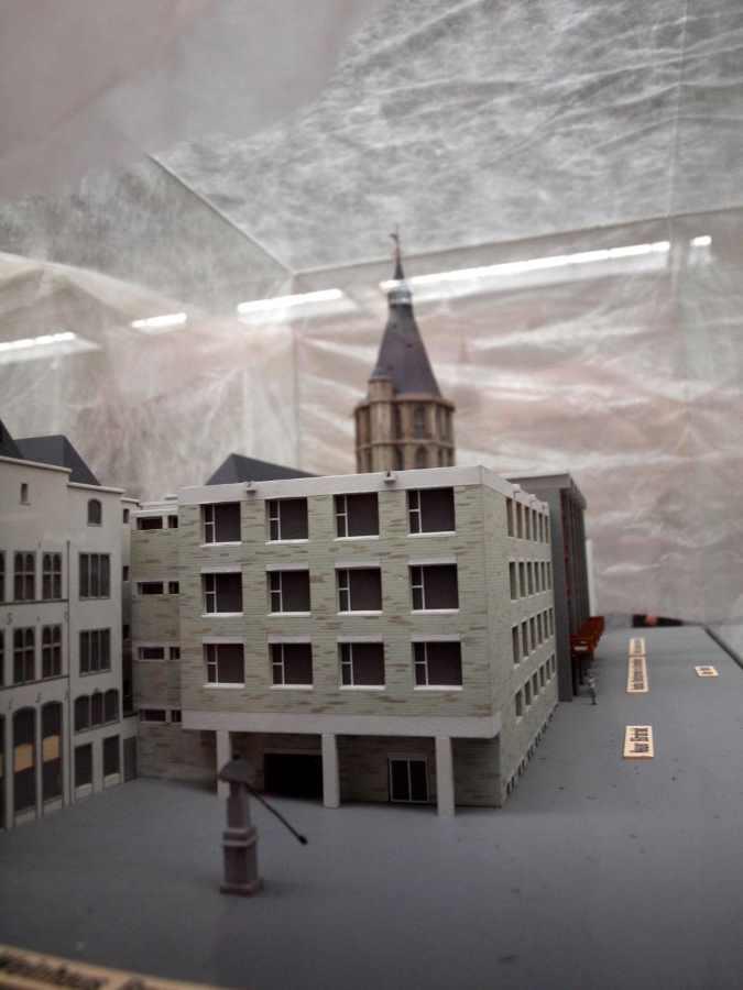 Kölner Rathaus, Modell: Hans Boffin. Kölnisches Stadtmuseum #depotdienstag