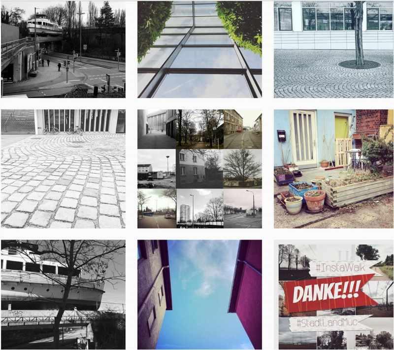 #StadtLandMuc war eine Aktion der Pinakotheken. Die Instagramer Munich mischten dabei mit den Kulturkonsorten mit. Screenshot Instagram Tag #StadtLandMuc