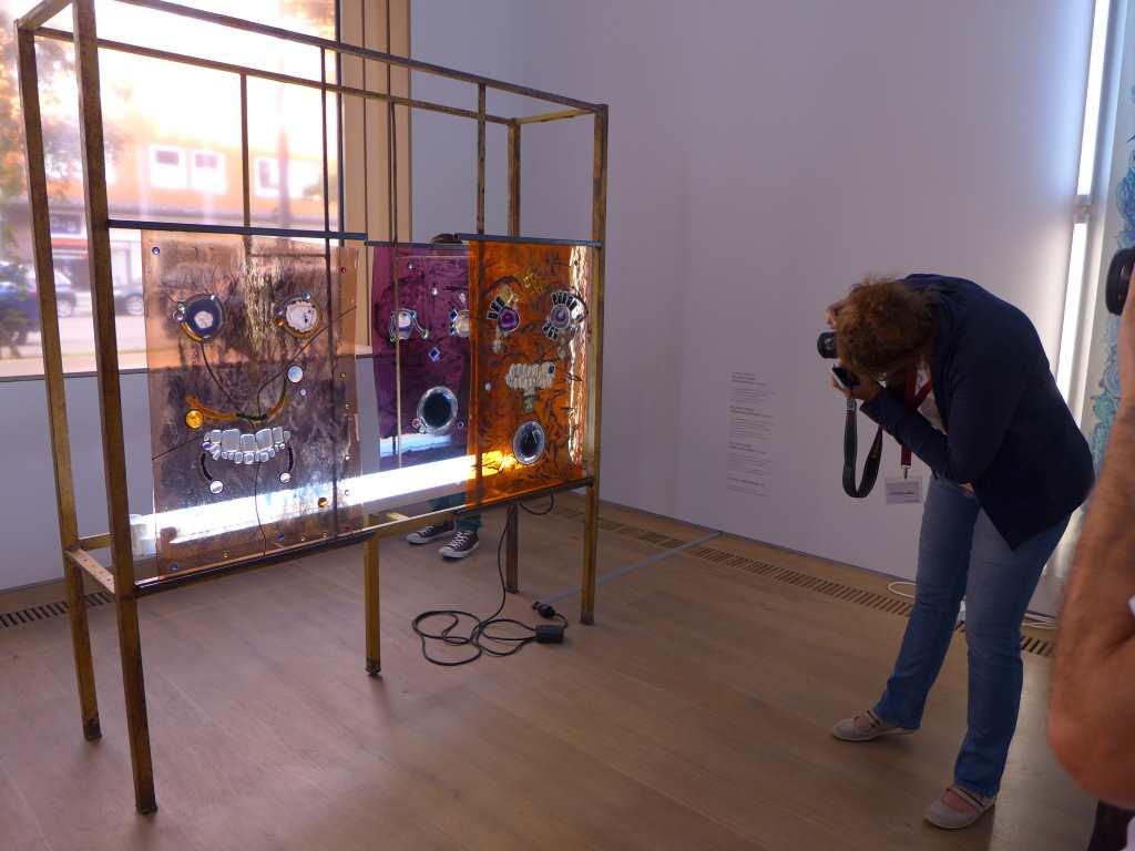 Installationsansicht Full-Fall von Kerstin Brätsch von Monika aka Isarblog fotografiert. #openbrandhorst17