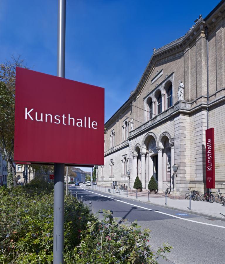 Außenaufnahme Staatliche Kunsthalle Karlsruhe © Staatliche Kunsthalle Karlsruhe, Foto: Norbert Miguletz - Beitrag zur Blogparade SchlossGenuss