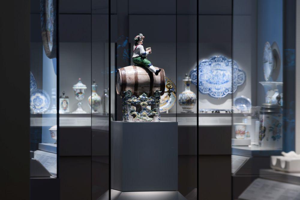Fassreiter im Bayerischen Nationalmuseum - #BarockerLuxus. Foto: Bastian Krack, Bayerisches Nationalmuseum