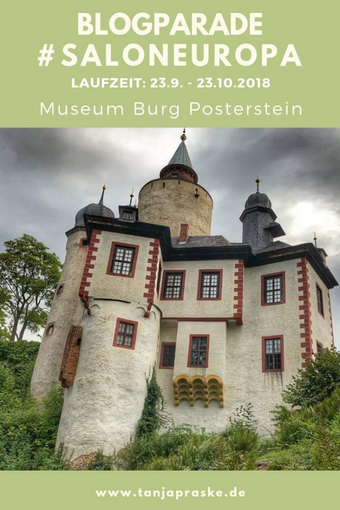"""Blogparade: """"#SalonEuropa - Europa ist für mich ...?"""" von Museum Burg Posterstein (Laufzeit: 23.9.-23.10.2018). Kleine Zwischenbilanz. Blick auf die Burg."""