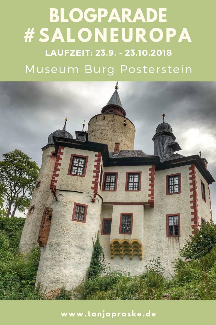 """Blogparade """"#SalonEuropa – Europa ist für mich …?"""" – Laufzeit bis 23. Oktober 2018 – Museum Burg Posterstein"""