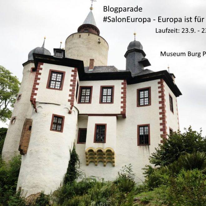 Blogparade #SalonEuropa - Salonkultur digital und analog von Burg Posterstein läuft bis zum 23.10.18 - hier Ansicht der Burg.