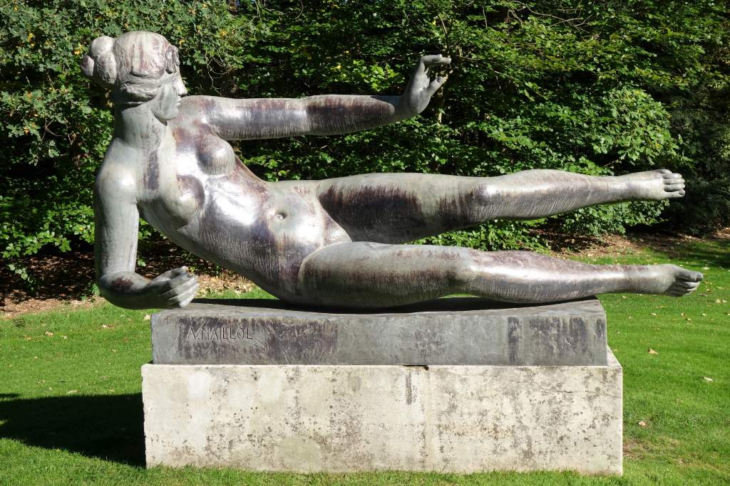 "Aristide Maillol, ""L'Air"", Bronze, 1939/1962. Bild: Peter Soemers CC BY"