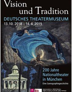 """Ausstellungen in München: """"Vision und Tradition. 200 Jahre Nationaltheater in München"""" - Deutsches Theatermuseum. Screenshot Website."""