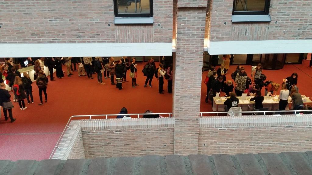 Rund 160 Teilnehmer*innen kamen in die Münchner Stadtbibliothek am Gasteig. #cdvsued.
