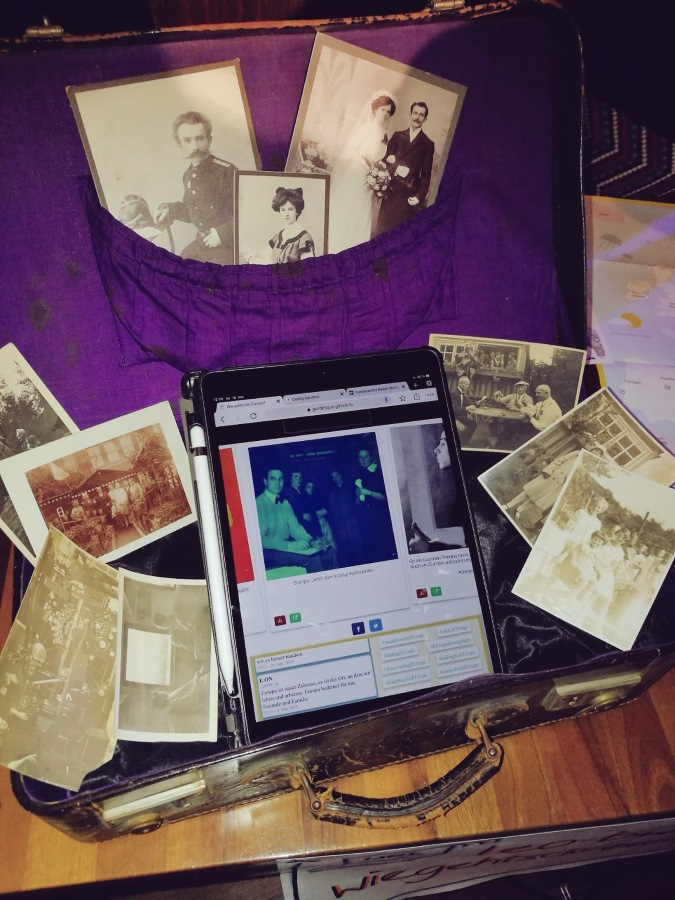Ein Koffer voller Geschichten (Foto von MFG kreativ (über Twitter)