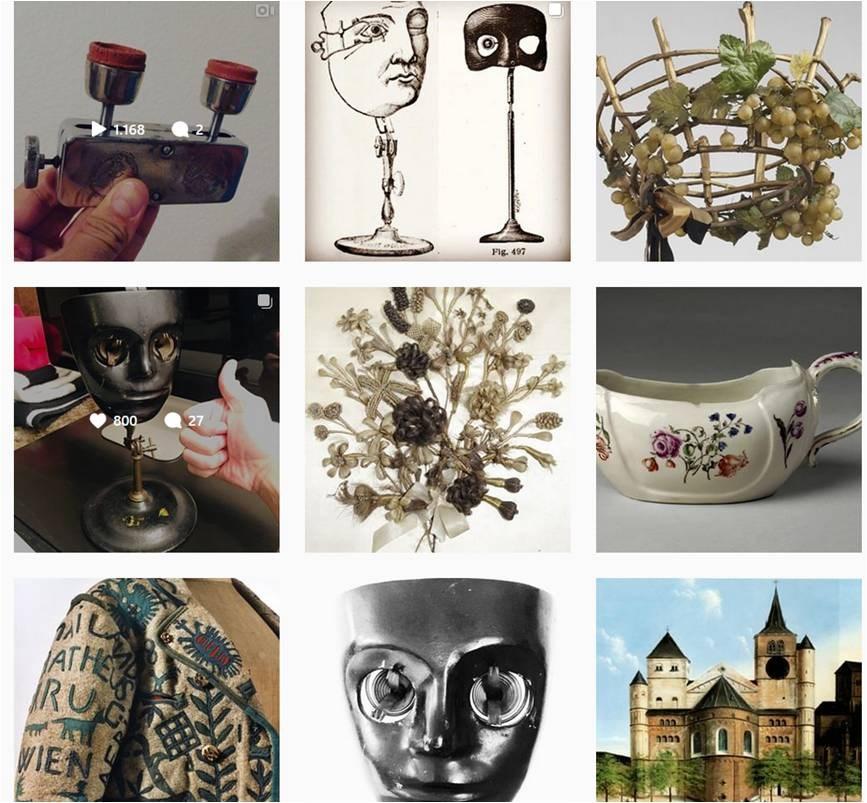 Aus dem Bauch heraus mit Ziel geplant , brachte die Instagram-Aktion #strangethingschallenge Museen und digitale Besucher näher.