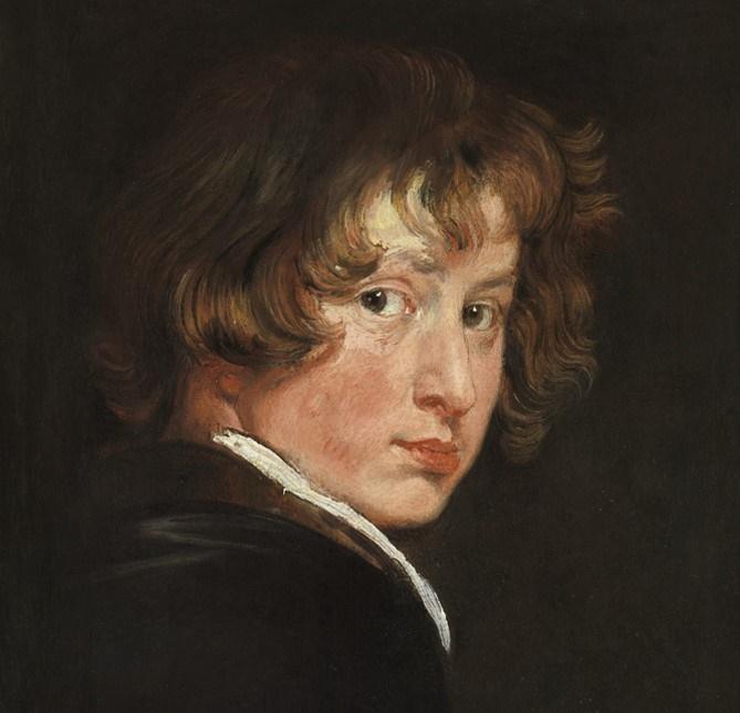 Selbstbildnis Anthonis van Dyck. Im Oktober beginnt diese faszinierende Ausstellung in der Alten Pinakothek. Ausstellungen in München im Herbst - Winter 2019 - 2020